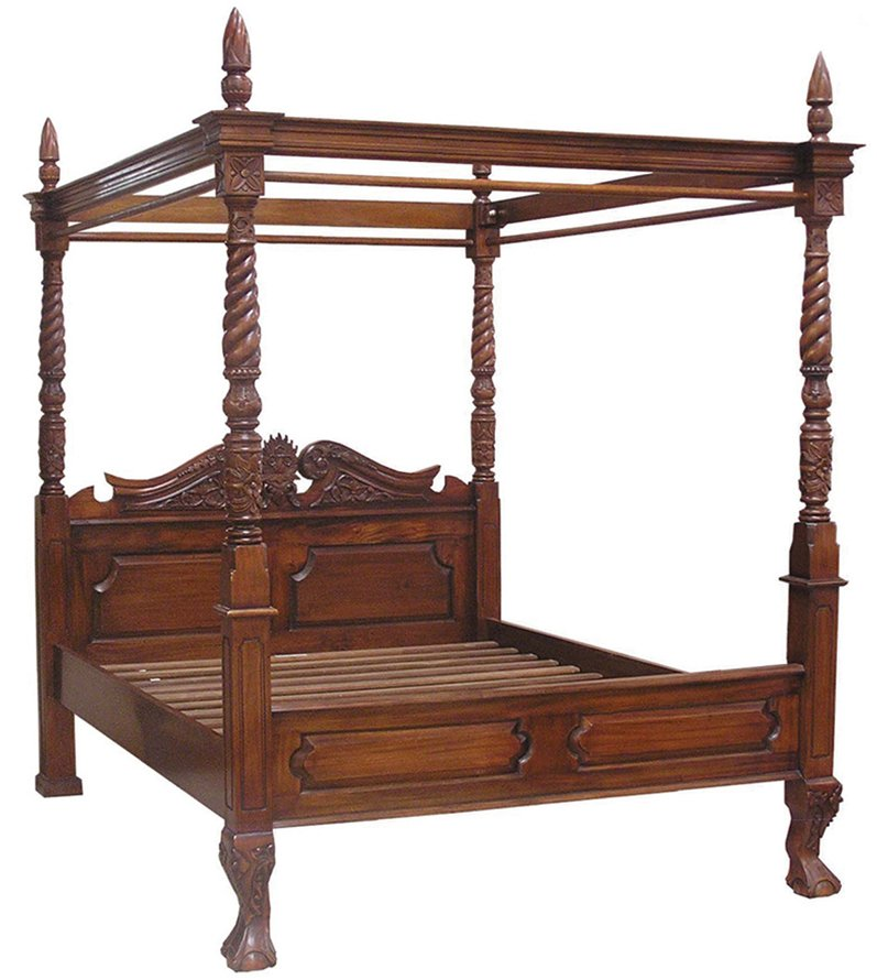BED1 - Queen Anne Four Poster