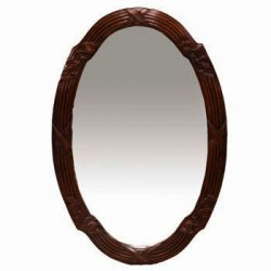 J09 - Fluted Mirror Oval